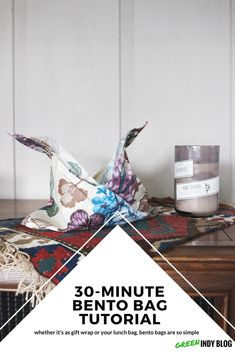 30-minute bento bag tutorial - Green Indy Blog