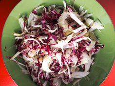 Fennel and Radicchio Salad With Tangerine Vinaigrette Recipe | Serious Eats