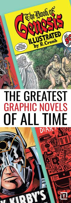The Greatest Graphic Novels Of All Time