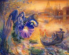Free Art wallpaper - Josephine Wall Fantasy Art Illustration wallpaper - wallpaper - Index 21 Josephine Wall, Fantasy Kunst, Fantasy Art, Fantasy Fairies, Fantasy Paintings, Art Paintings, Art And Illustration, Fantasy World, Amazing Art