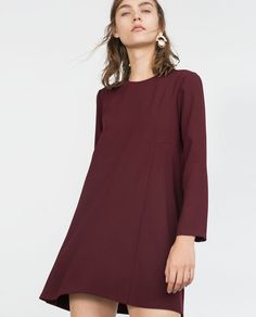 BABYDOLL DRESS from Zara - I just really like the lines on this dress