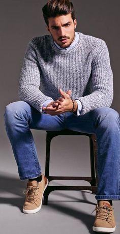 Marvelo grey sweater