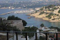 #ElPortet Moraira Villa with spectacular views across Moraira bay on the Costa Blanca North in Spain