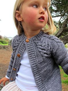 Wide Range of Sizes (Baby to Adult) Ravelry: Antler Cardigan pattern by tincanknits