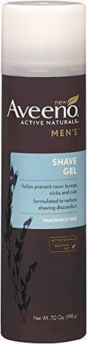Aveeno Active Naturals Mens Shave Gel 7 oz