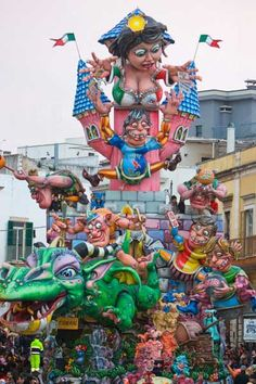 Carnival - Putignano - Photo by Fondazione Carnevale Putignano