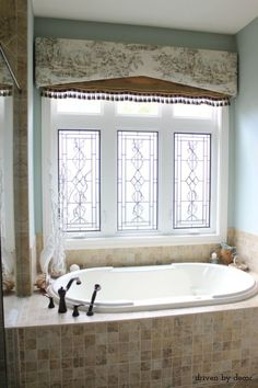 Bathroom Window Treatments bathroom window treatment - like - brings more light into the