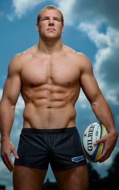 Rugby player James Haskell