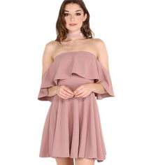 Keira - Ruffle Fold Dress