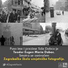 Tošo Dabac rođen je 18. svibnja 1907. Glavni motiv njegovog stvaralaštva bio je grad Zagreb. Nositelj je socijalnog smjera u fotografiji. Socijalnom tematikom perioda u kojem je živio stekao je kultni status među najvećim svjetskim fotografima. #ZagrebFacts #Zagreb #ZG #Agram #TosoDabac #StariZagreb #OldZagreb #photography