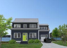 modern cape cod beach house by zeroenergy design modern house and