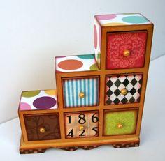 Wonderland Six Drawers Box