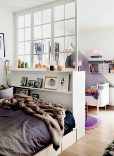 """We're all about small space living here at Apartment Therapy, but even we admit that it can be difficult to find privacy in a tiny home. But whether it's from the other people in your household, occasional guests, your neighbors or even just your own work, separation can be achieved. Read on for some ideas on how to carve a bit of """"me space"""" in your place."""