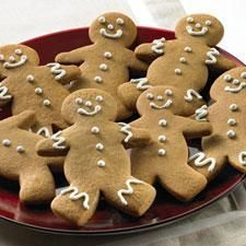 Crunchy Gingerbread Cookies.  These are my favorite cookies ever...so I am going to try to make them instead of spending a fortune buying them at the store.  With my kids sneaking mine away they only last two sittings!