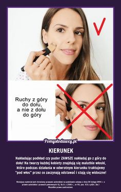 NIE POPEŁNIAJ TEGO BŁĘDU ROBIĄC MAKIJAŻ A EFEKT BĘDZIE LEPSZY! Makeup Tips, Beauty Makeup, Everything And Nothing, Good To Know, Life Hacks, Make Up, Advice, Skin Care, Color