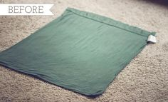 Upcycle: Pillowcase to top tutorial