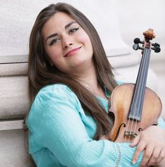 "Refugee Violinist Who Left Syria For U.S. Now Plays Music For Peace // Her brother is in a refugee camp and her parents are still in a war zone. // ""When I perform Jewish music for Islamic communities and I'm Christian, it's something that unites us together,"" she said. / Music / Syria / Refugees / Violin /"