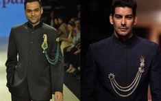 Your fiance may scrunch his nose at the sound of 'jewellery' but Groom wear jewels go back to the age of the Maharajas. And new age grooms are adapting that jewellery to current trends . Here are some we spotted:...