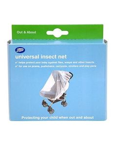 #Boots Baby Boots Universal Insect Net 10050764 #20 Advantage card points. Boots Universal Insect Net is an all-over insect net suitable for a wider range of pushchairs, prams and playpens or travel cots FREE Delivery on orders over 45 GBP. (Barcode EAN=5045092463482)