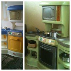 Plastic Play Kitchen Step 2