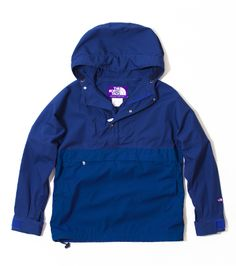 Pull over north face purple label