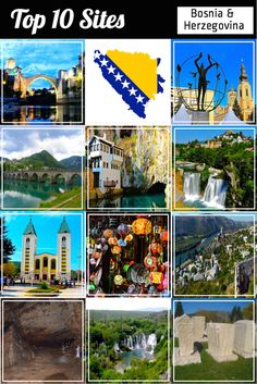 """Bosnia & Herzegovina, an undiscovered country in the Balkans, should be on your bucket list before it is """"discovered"""". With two UNESCO sites and another eight on the tentative list, there are more than a Top 10 of historical, cultural, and natural sites to see and experience."""