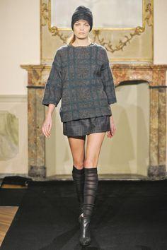 Модные вязаные модели от Les Copains | Вяжем с Лана Ви