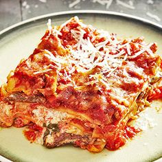 1000 images about italian on pinterest lasagna braciole recipe and beef for Better homes and gardens lasagna