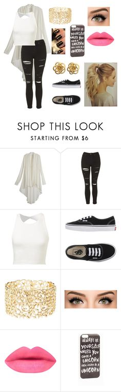 """Untitled #44"" by therealcheesequake on Polyvore featuring Willah, Topshop, Vans, Charlotte Russe, JFR, women's clothing, women's fashion, women, female and woman"
