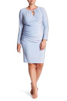 8e20f22f2d4 Long Sleeve Sparkle Knit Dress (Plus Size) 14-22  65 Plus Size Dresses