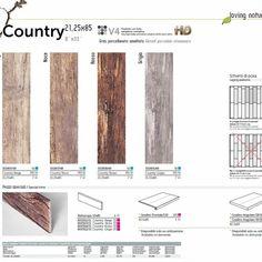 Gres Effetto legno serie Country - Effetto legno - Gres porcellanato - Ceramiche Artistiche Bertolani sas