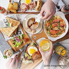 Brunchtime! Indítsátok a hétvégét egy kiadós szombati villásreggelivel! :P #brunch #brunchtime #brunchgoals #food Brunch, Ramen, Camembert Cheese, Ethnic Recipes, Food, Meal, Eten, Meals, Windows