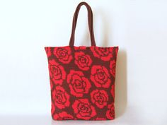 Crochet pattern for roses tote. Practice tapestry by chabepatterns