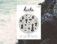 """Check out new work on my @Behance portfolio: """"Cover for Lente Magazine""""…"""