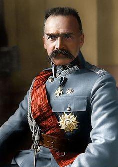 Polish Dictator Jozef Pilsudski.