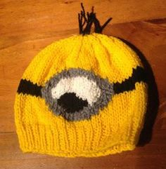 """Free """"Despicable Me"""" Minion Knitting Patterns"""