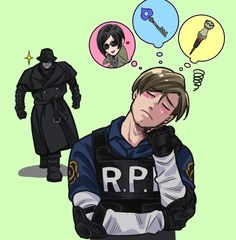 Resident Evil, Leon/Ada, Leon S. Red Dead Redemption, Leon S Kennedy, Fandom Games, Resident Evil Game, Evil Art, Funny Pictures Can't Stop Laughing, Videogames, Manga Anime One Piece, Scary Art