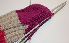 Hvordan strikke sokker / ull labber – Boerboelheidi Knitting Stitches, Lana, Knitted Hats, Diy And Crafts, Homemade, Stuff To Buy, Fashion, Tejidos, Pictures