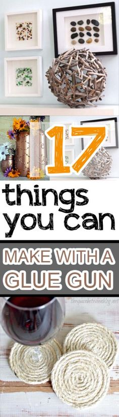 Glue gun, glue gun crafts, crafting, craft hacks, popular pin, craft, DIY home, tutorials, DIY
