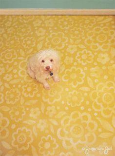 Painted Floor!