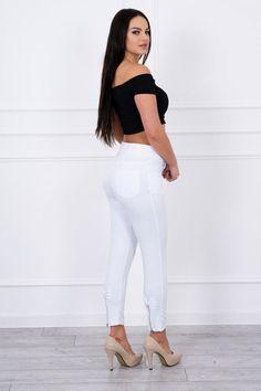 Pantaloni dama alb - 77 Lei -    Compozitie:  75% bumbac ,  20% poliester,  5% elastane -   Comanda acum!  #divashopromania #divashop #hainefemei #pantaloni  #fashion #fashionista #fashionable #fashionaddict #styleoftheday #styleblogger #stylish #style #instafashion #lifestyle #loveit #summer #americanstyle #ootd #ootdmagazine #outfit #trendy #trends #womensfashion #streetstyle #streetwear #streetfashion #shopping #outfitoftheday #outfitinspiration #ootdshare #trendalert Ootd, Street Style, Shopping, Dresses, Fashion, Vestidos, Moda, Urban Style, Fashion Styles