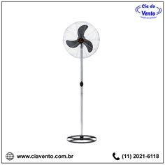 Ventilador de Coluna (Pedestal) 65 cm Ventisilva VCL Preto com Cromado. Peça já o seu! (11) 2021-6118