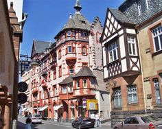 Traben germany | Traben Trarbach. This is where we would go to get our favorite dessert,  Spaghetti Ice.....sure would love to have that dessert just one more time.