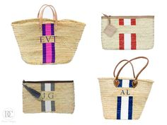 Doreen Corrigan | DIY Painted Straw Bag | http://doreencorrigan.com