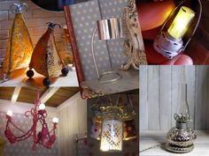 DIY Miniature lamps - a variety of lamp how tos: