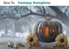 Fantasy Pumpkins (Cinderella's Carriage)