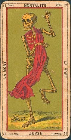 La mort - the Death Tarot archtype Xiii Tarot, La Danse Macabre, Vintage Tarot Cards, Arte Van Gogh, Art Carte, Arte Obscura, Art Et Illustration, Illustrations, Art Graphique