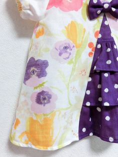 (100)モーリシャスのうしろフリルチュニック - handmade shop [KZ] by KeiZon ★ ちょっぴりオシャレなハンドメイド子供服