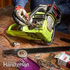 Repair & Rebuild Your Own Chainsaw: DIY Front End Rebuild   The Family Handyman