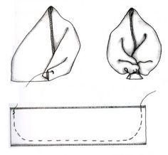 самодельные листочки из лент